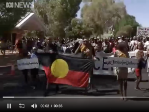 Thousands from remote communities march for Kumanjayi Walker in Alice ..