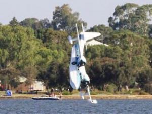 Australia Day Swan River plane crash blamed on pilot error as ATSB cal..
